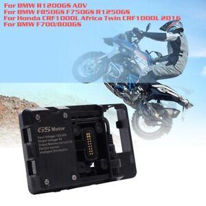 For-BMW-R1200GS-Mobile-phone-holder-USB-phone-charging-Navigation-bracket