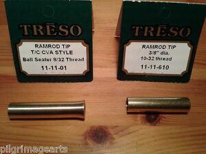 TRESO-Ramrod-Tip-Ball-seater-amp-Ramrod-End-solid-brass-01-amp-610-Muzzleloading-USA