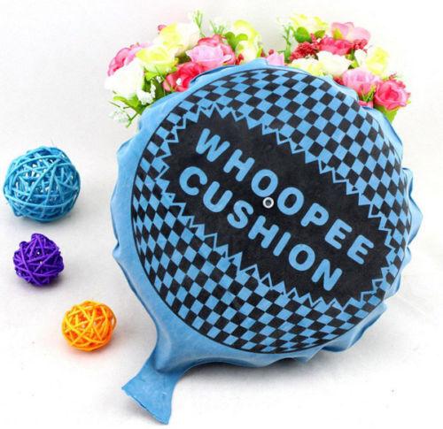 Self Inflating Whoopee-Cushion Joke Prank Party Toy Fart Whoopie Balloon NEW UK