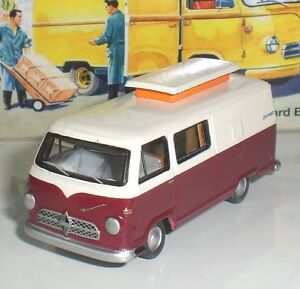 BUB-07124-VOITURE-BORGWARD-HYMER-CARAVANO-LIMITED-EDITION-DIECAST-1-87-HO-NEW