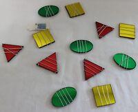 Sun-catcher Strand Multi Color 60 Inch 12 Square Rectangular Oval Mirror