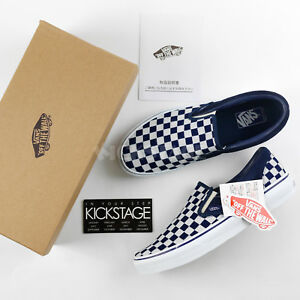 vans slip on checkerboard ebay