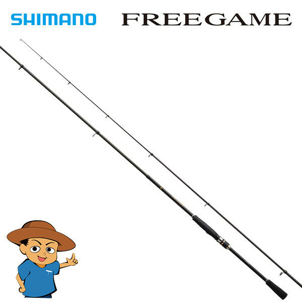 Shimano FREEGAME S90ML-4 Medium Light 9' telescopic fishing spinning rod 2018