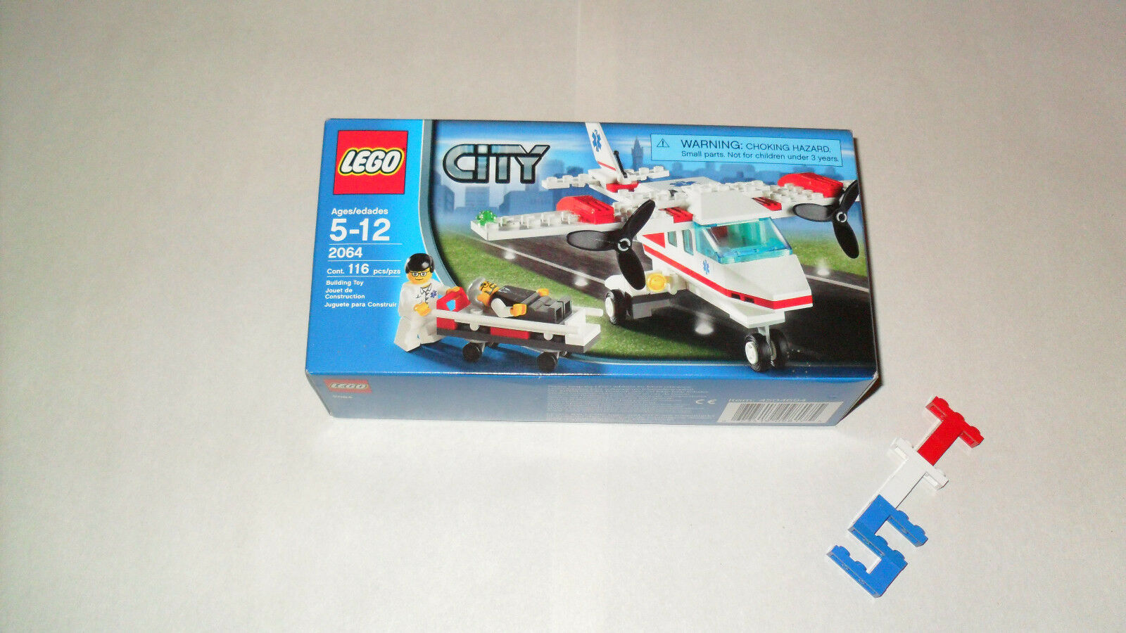 LEGO RARE Limited Air Collection NEW Sealed Sealed Sealed Box 2064 Air Ambulance Free Shipping d55146