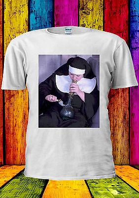Nuns /& et sons weed funny smoking t-shirt débardeur tank top hommes femmes unisexe 1328