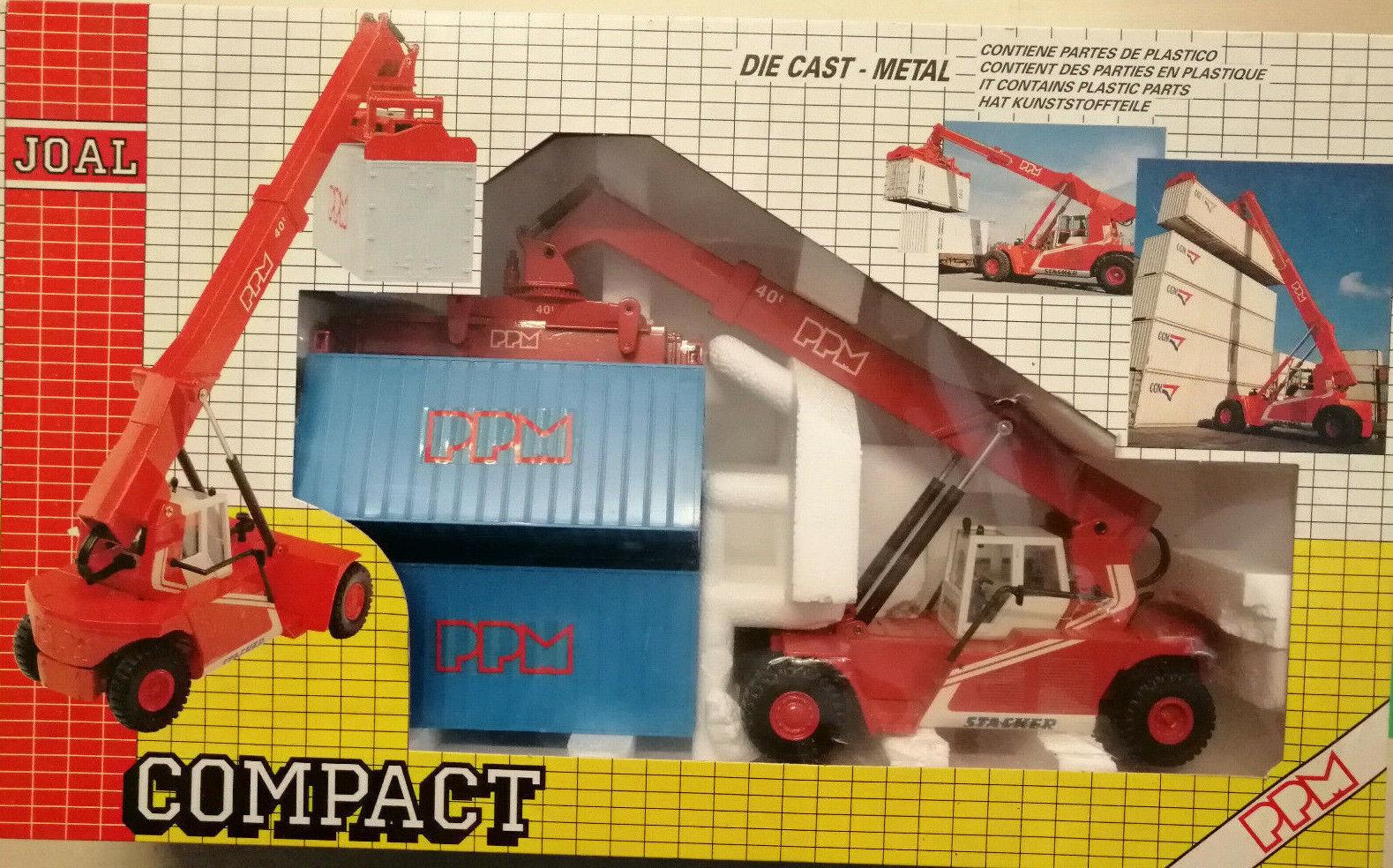 Joal Compact - Die Cast Metal - Super Stacker - vintage '80