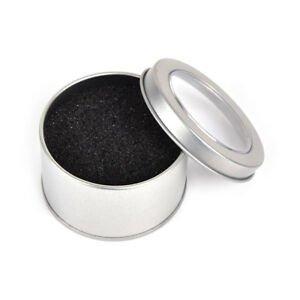 Silver-Round-Metal-Jewelry-Watch-Box-Display-Case-Watch-Box-Holder-6-5-4-RAC
