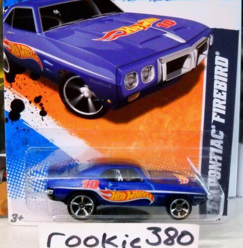 HW RACE TEAM BLUE 1969 /'69 PONTIAC FIREBIRD 2011 Hot Wheels HW RACING #157