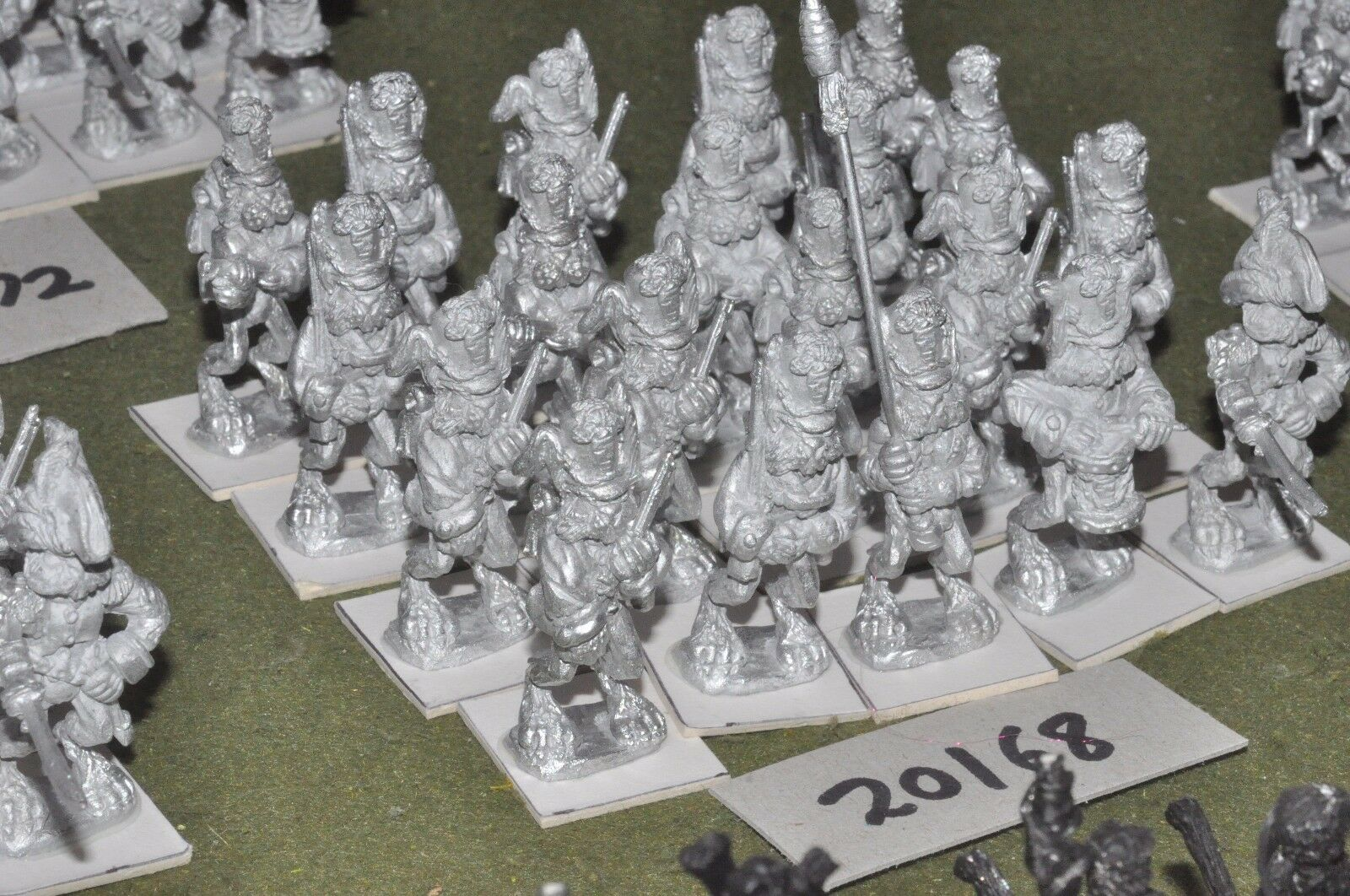 28mm flintloque fantasy Burrovian Line unpainted 20 infantry {16}(20168)