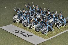 15mm napoleonic brunswick hussars 12 cavalry (15908)