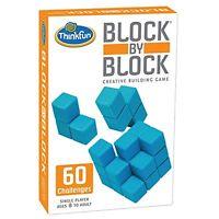 Thinkfun Block By Block , New, Free Shipping