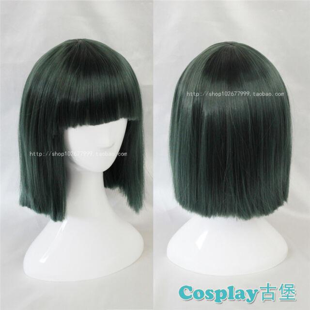 Spirited Away Nigihayami Kohakunushi green short healthy cosplay wig