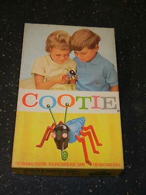 Vintage 1949 Cootie Game Replacement Parts 1 Black Eye