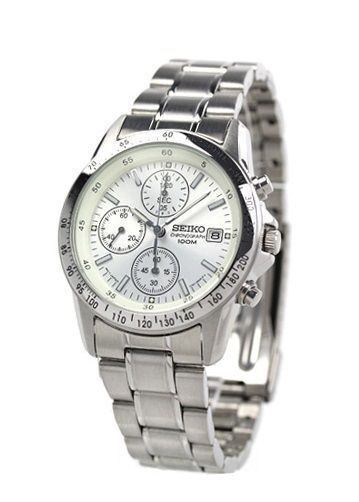 b12c79340 Seiko Chronograph SND363PC SND 363pc Men's Watch From Japan for sale online  | eBay
