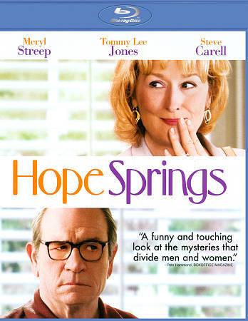 Hope Springs Blu-ray Disc, 2012, Includes Digital Copy UltraViolet  - $0.99