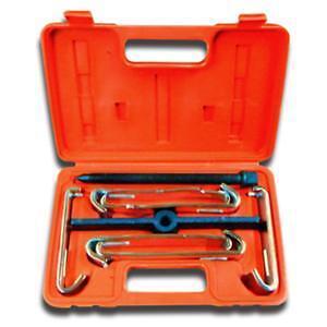 V8 Tools 4205 5-Ton Chrome Plated Straight Bar Puller Set