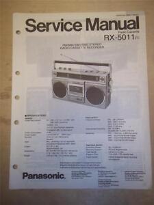 panasonic rx d55gc k boombox manual