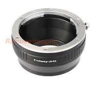 Leica R Lr Lens To Fujifilm X-pro2 X-t1 X-a10 X-t2 X-t10 X-t20 Adapter Us Seller