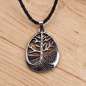 Pendentif-Arbre-de-la-Vie-Collier-Homme-Femme-Ado-Cadeau-Tree-of-Life-Necklace