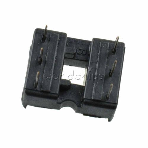 50PCS 6 Pin 6P IC Socket Adaptor for DIY PCB Solder Type DIP 6 Socket