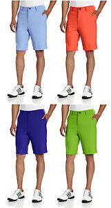 Adidas-Golf-Men-039-s-Climalite-Flat-Front-Short-Golf-Shorts-Multiple-Colors