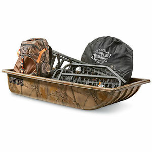 snow hauling sled winter hunting gear bear duck dear drag. Black Bedroom Furniture Sets. Home Design Ideas