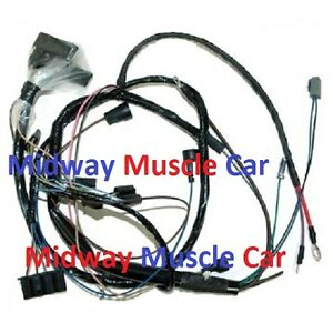 hei engine wiring harness v8 68 pontiac gto lemans tempest 400 350 Car Wiring Harness image is loading hei engine wiring harness v8 68 pontiac gto