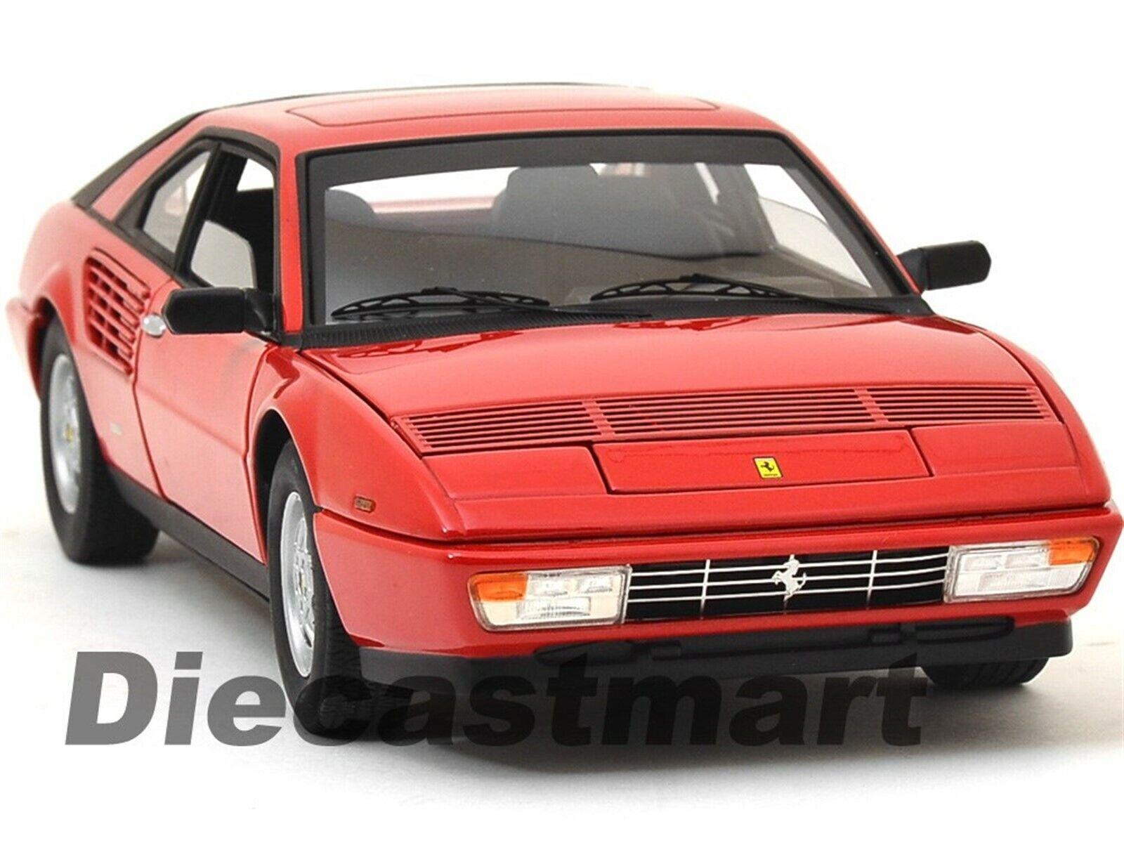 Hotwtalons 1 18 Elite Ferrari 3.2 Mondial  Moulage sous Pression Rouge  magasins d'usine