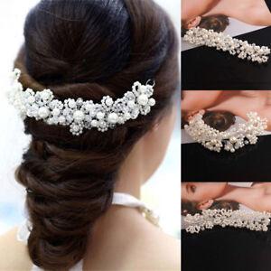 Bridal-Hair-accessories-Wedding-Hairband-Clip-in-Pearls-piece-Decor
