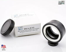 M42 Screw Lens Micro 4/3 Camera Mount Adapter Tripod Olympus E-P1 Panasonic #519