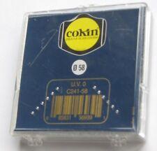 58mm Cokin UV Lens Filter HR Protection Genuine France 58 mm C241-58 Camcorder