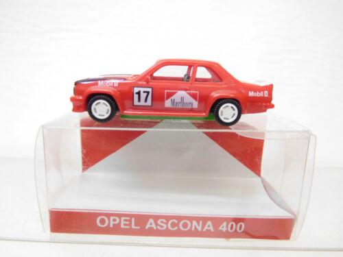Eso-5506 EURO MODEL 1:87 OPEL ASCONA 400 MARLBORO con minimi segni di usura,