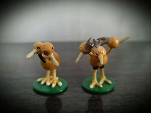 RARE Pokemon Doduo & Dodrio Tomy C.G.T.S.J Figura Giocattolo Set BUNDLE DA COLLEZIONE