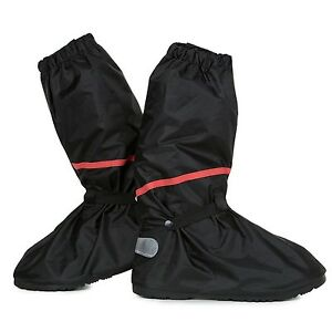 Go Motorcycle Boot Covers - Ultimate Waterproof Protective Rain Snow Shoes Co...