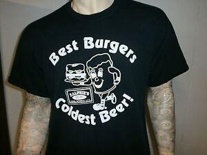 Meilleur-Burgers-Plus-Froid-Biere-T-Shirt-Ralphies-Barre-Restaurant-Toledo-Ohio