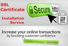 SSL Certificate Installation Service Install SSL cPanel kloxo VPS server https