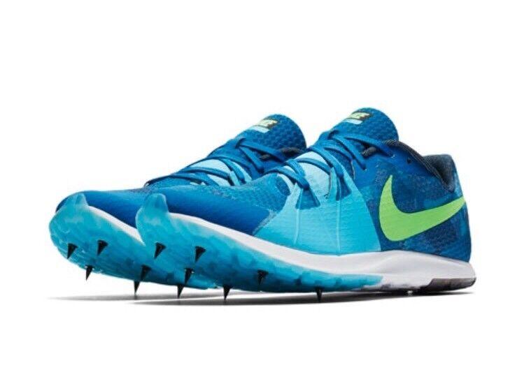 new concept 44644 7e2eb Nike Zoom rival XC Cross Cross Cross Country hombres picos 904718 403 azul  comodo marca de