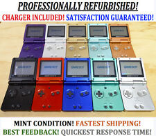 Nintendo Game Boy Advance SP Launch Edition Pearl Blue Handheld System