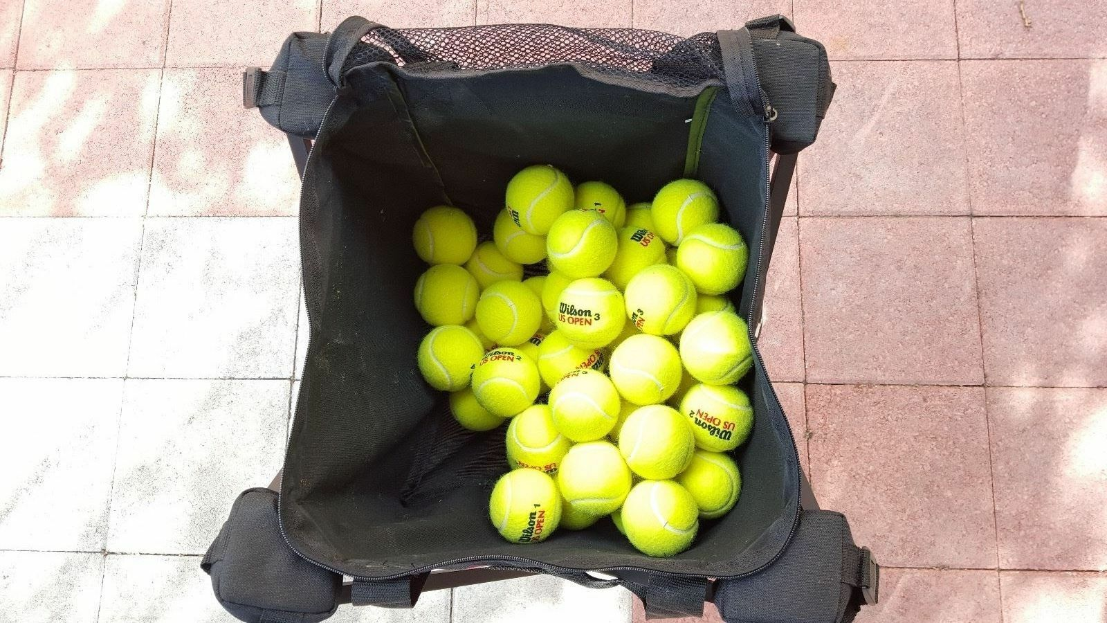 70 70 70 US OPEN WILSON Used Tennis Balls LOT fb41d1