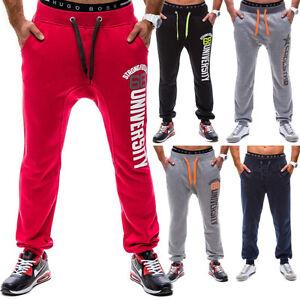 Bolf-OUTLET-SALEhombre-pantalones-deportivos-de-Entrenamiento-Jogging-Fitness