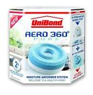 UniBond Aero 360 Moisture Absorber Refills X2 Humidity Odors Home Office Indoor