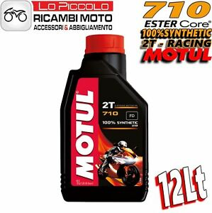 OLIO-MOTORE-MOTO-MOTUL-710-2T-100-SINTETICO-12-LITRI-LT-OLIO-MISCELA-SCOOTER