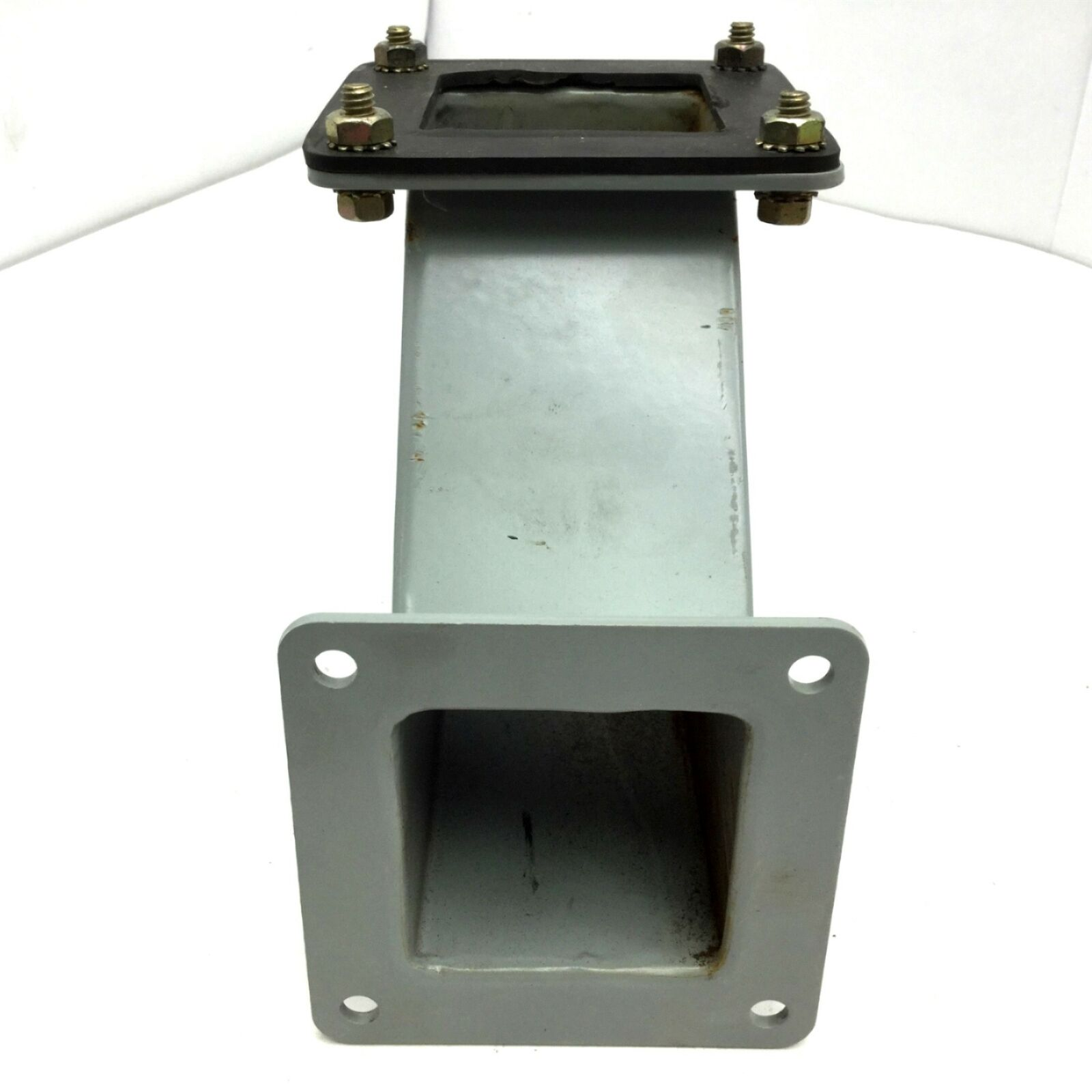 """Hoffman F-22WE90 90 Degree Elbow Wireway Mounting Face 3.88/""""x3.88/"""" Steel NEW"""