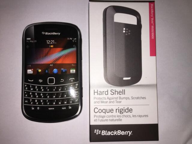 Original Blackberry Hard shell Case Cover Bold 9900 9930 Black ACC-38874-301/101