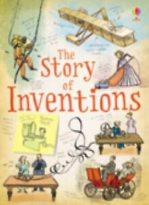 The-Story-of-Inventions-by-Claybourne-Anna-Paperback-Book-The-Cheap-Fast-Free