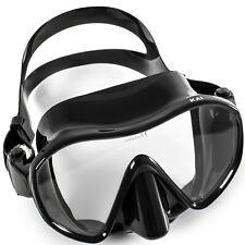 Adventure At Nature Ninja Professional Scuba Diving Snorkeling Black Low Mask