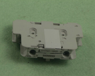 2PCS New Siemens 3TY7561-1AA00 3TY75611AA00 Auxiliary Contact Switch In Box