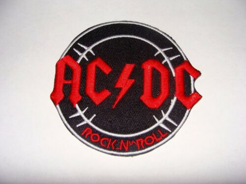 PATCH ECUSSON  THERMOCOLLANT  AC//DC  ROCK N ROLL