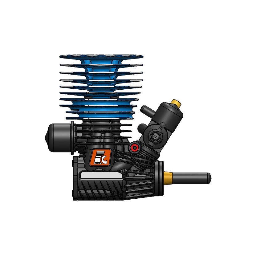 Nitromotor 21r pro 3,48 ccm 3,35 ps cnc - turbomotor kraft motor ec-21rz2 250011