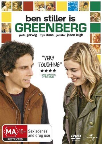 1 of 1 - GREENBERG Ben Stiller, Rhys Ifans, Greta Gerwig DVD NEW